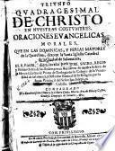 Triunfo quadragesimal de Christo en nuestras costumbres