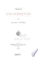 Trovas colombinas por Jose Peon y Contreras