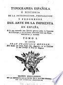 Typographia espanola