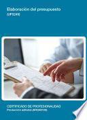 UF0249 - Elaboración del presupuesto
