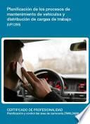 UF1259 - Planificación de los procesos de mantenimiento de vehículos y distribución de cargas de trabajo