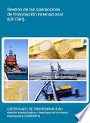 UF1761 - Gestión de las operaciones de financiación internacional