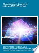 UF1884 - Almacenamiento de datos en sistemas ERP-CRM