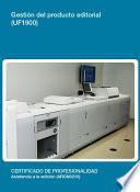 UF1900 - Gestión del producto editorial