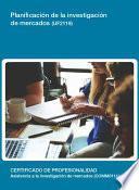 UF2119 - Planificación de la investigación de mercados