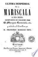 Ultima despedida de la Mariscala a sus hijos