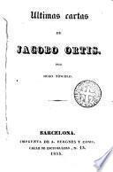 Últimas cartas de Jacopo Ortis