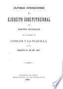 Últimas operaciones del Ejército Constitucional