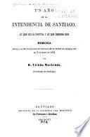 Un año en la Intendencia de Santiago