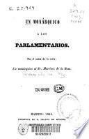 Un monárquico a los parlamentarios