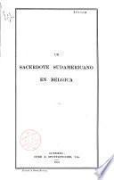 Un Sacerdote sudamericano en Bélgica
