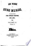 Un viage al otro mundo, pasando por otras partes, 1871 a 1874