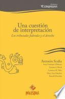 Una cuestión de interpretación