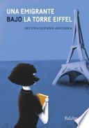 Una emigrante bajo la torre Eiffel