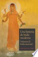Una historia de India moderna