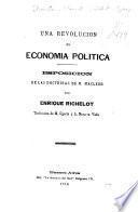 Una revolucion en economia política