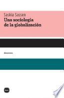 Una sociología de la globlalización