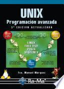 Unix Programacion Avanzada, 3ª edicion.