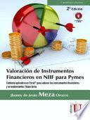 Valoración de Instrumentos Financieros en NIIF para Pymes