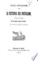 Varias publicaciones contra la prórroga del privilejio que otorga el monopolio de la navegación a vapor en el Pacifico en favor de la Compañia de Lóndres