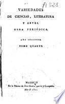 Variedades de Ciencias, Literatura y Artes