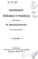 Variedades literarias y políticas