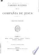 Varones ilustres de la Compania de Jesus