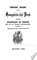 Verdadera relación de la conquista del Perú