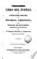 Verdadero libro del pueblo o conversaciones familiares de Doctrina cristiana
