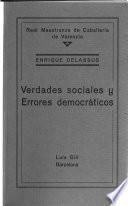 Verdades sociales y errores democráticos
