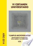 VI Certamen Universitario