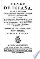 Viage de España, 3a ed., corregida 18 tom