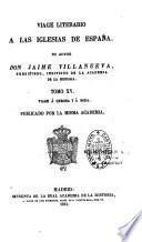Viage literario á las iglesias de España