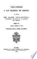 Viage [sic] literario a las iglesias de España, 15