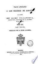 Viage [sic] literario a las iglesias de España, 21