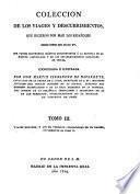 Viages menores y los de Vespucio, poblaciones en la Darien, suplemento al tomo II