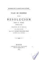 Viaje de regreso de la Resolución