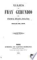 Viajes de Fray Gerundio por Francia, Bélgica, Holanda y orillas del Rhin