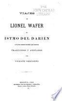 Viajes de Lionel Wafer al istmo del Darién