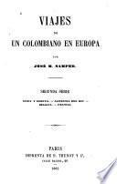 Viajes de un colombiano en Europa