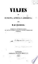 Viajes en Europa, Africa y América