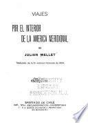 Viajes por el interior de la America Meridional de Julian Mellet