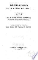 Vida de Don Juan Josef Navarro, primer Marqués de la Victoria