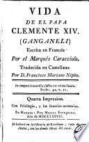 Vida de el Papa Clemente XIV (Ganganeli)