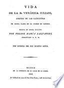 Vida de la B. Verónica Juliani,Abadesa de las Capuchinas de Castelo