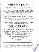 Vida de la V. Mariana Villalva y Vicente con una breve noticia de la fundación del convento de la Encarnación (Zaragoza)