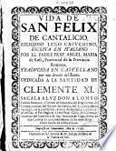 Vida de San Felix de Cantalicio, religioso lego y capvchino