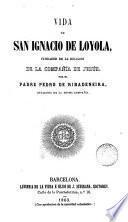 Vida de San Ignacio de Loyola