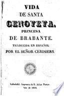 Vida de Santa Genoveva, princesa de Bravante