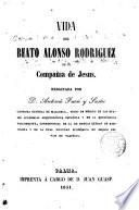 Vida del Beato Alonso Rodriguez de la Compañia de Jesús